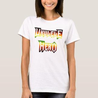 Ukulele Hero by Ash T-Shirt