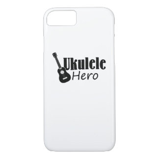 Ukulele Hero Ukulele Uke Music Lover Gifts Player iPhone 8/7 Case