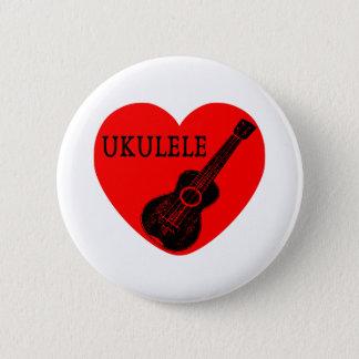 Ukulele Love 6 Cm Round Badge