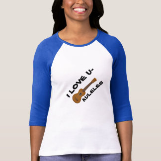 Ukulele lovers' ladies' t-shirt