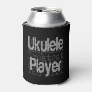 Ukulele Player Extraordinaire Can Cooler