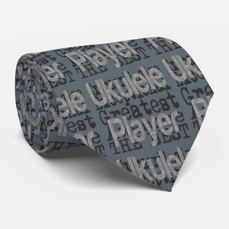 Ukulele Player Extraordinaire Tie