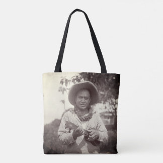 Ukulele Player Hawaii 1920s Vintage Tote Bag