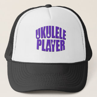 Ukulele Player Trucker Hat