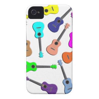 Ukulele Rainbow iPhone 4 Cases