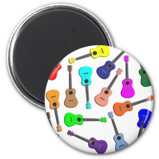 Ukulele Rainbow Magnet