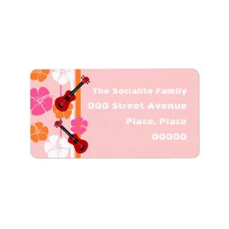 Ukulele Time! Address Label