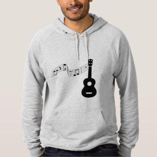 Ukulele with Music Notes Sweatshirt