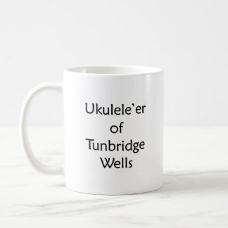 Ukulele'r of Tunbridge Wells Coffee Mug