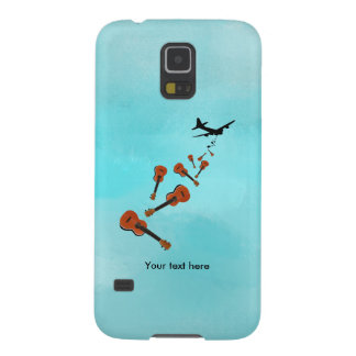 Ukuleles dropping from and airplane galaxy s5 covers