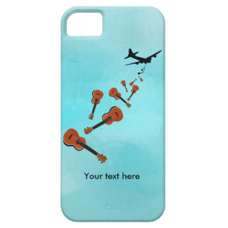 Ukuleles dropping from and airplane iPhone 5 case