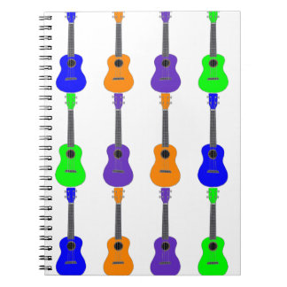 Ukuleles Spiral Notebook