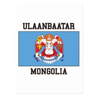 Ulaanbaatar Flag Postcard