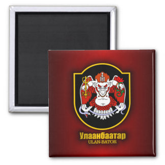 Ulan Bator Emblem Magnet