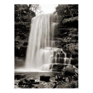 Uldale Force, Cumbria -  sepia tone Postcard