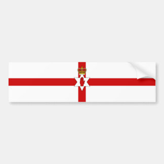Ulster Banner Northern Ireland Flag Bumper Sticker