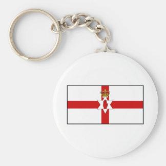 Ulster Banner Northern Ireland Flag Keychain