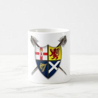 Ulster-Scots / Scots-Irish coat of arms mug