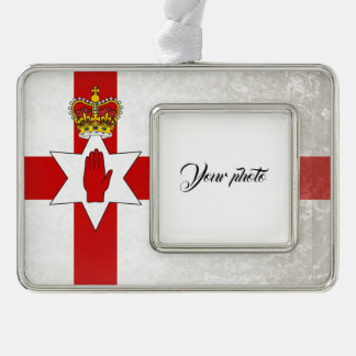 Ulster Silver Plated Framed Ornament