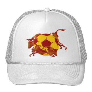 Ulta hot Spanish Running of the bulls soccer spain Cap