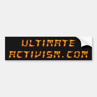 ULTIMATE ACTIVISM.COM Bumper Sticker