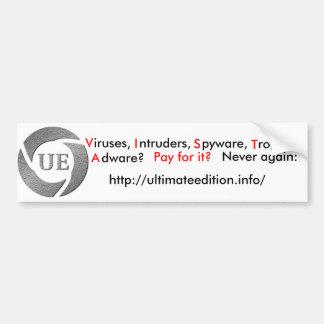 Ultimate Edition bumper sticker