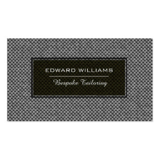 Ultimate Experience Bespoke Tailoring Consultant Pack Of Standard Business Cards