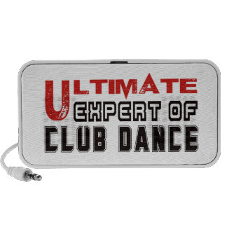 Ultimate Expert Of Club dance. iPod Speakers