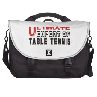Ultimate Expert Of Table Tennis. Bags For Laptop