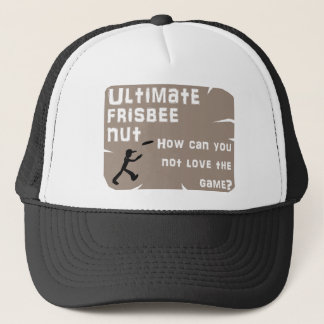Ultimate Frisbee Nut Hat