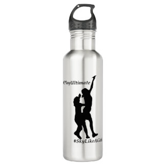 Ultimate Frisbee - Sky like a girl 710 Ml Water Bottle