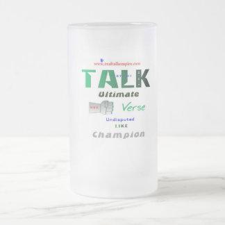 ultimate - glass frosted glass mug