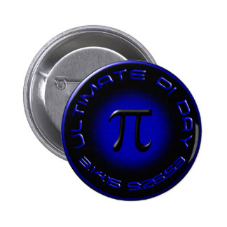 Ultimate Pi Day 2015 3.14.15 9:26:53 (blue) Pin