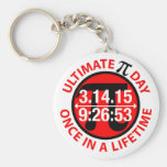 Ultimate Pi Day 2015 Basic Round Button Key Ring