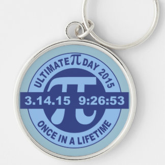 Ultimate Pi day keychain 2015 3.14.15 9:26:53
