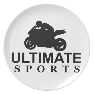 ULTIMATE SPORTS superbikes Dinner Plates