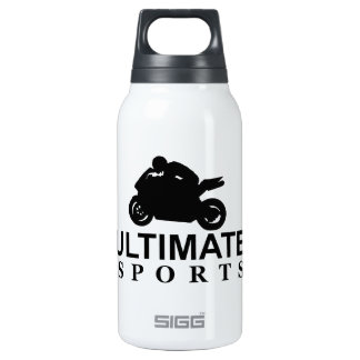 ULTIMATE SPORTS (superbikes) 10 Oz Insulated SIGG Thermos Water Bottle