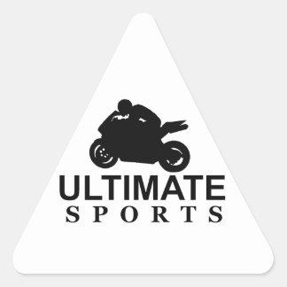 ULTIMATE SPORTS (superbikes) Triangle Sticker