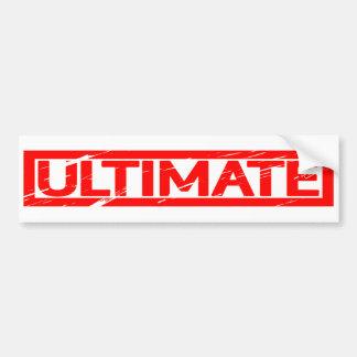 Ultimate Stamp Bumper Sticker