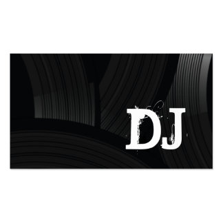 Ultimate Vinyl Records DJ Music Business Card