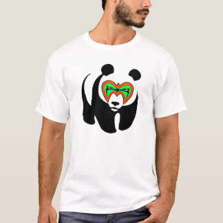 Ultimate Wrestling Panda Shirt