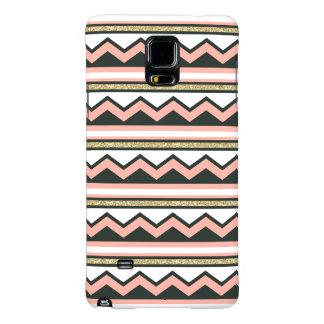 Ultra Chic Gold Chevron Samsung Galaxy Note 4 Case