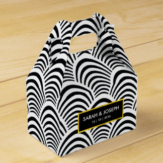 Ultra Chic Jazz Age Deco pattern Favour Box