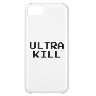 Ultra Kill Video Game Font iPhone 5C Case