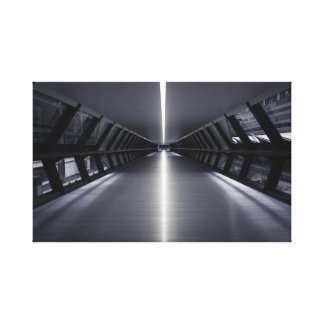 Ultra Modern Sci-fi Walkway Canvas Print