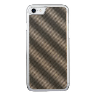 Ultra Thin Black & White Gradation Lines Carved iPhone 8/7 Case