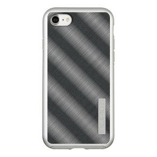 Ultra Thin Black & White Gradation Lines Incipio DualPro Shine iPhone 8/7 Case