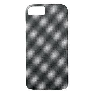 Ultra Thin Black & White Gradation Lines iPhone 8/7 Case