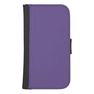 Ultra Violet Color Samsung S4 Wallet Case