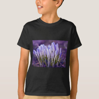 Ultra violet crocuses T-Shirt